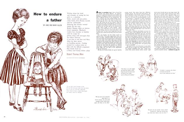 Article Preview: How to endure a father, January 1959 | Maclean's