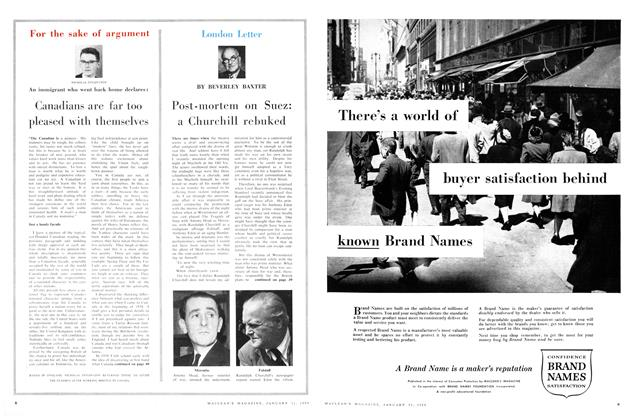 Article Preview: London Letter, January 1959 | Maclean's