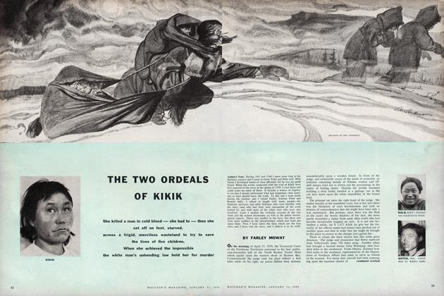 Article Preview: THE TWO ORDEALS OF KIKIK, January 1959 | Maclean's