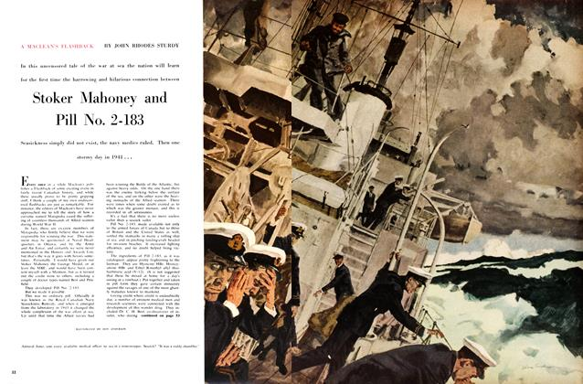 Article Preview: Stoker Mahoney and Pill No. 2-183, February 1959 | Maclean's