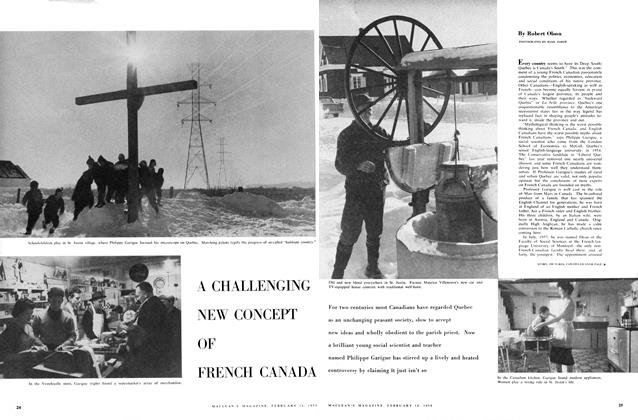 Article Preview: A CHALLENGING NEW CONCEPT OF FRENCH CANADA, February 1959 | Maclean's
