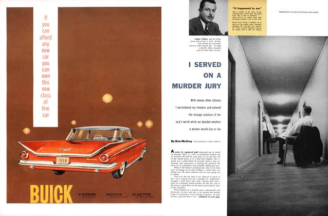 Article Preview: I SERVED ON A MURDER JURY, February 1959 | Maclean's