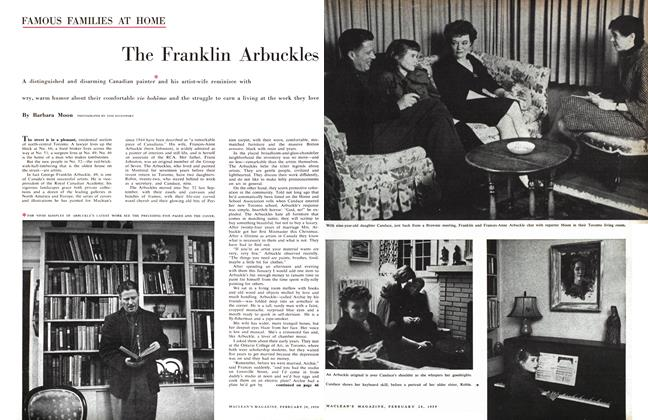 Article Preview: The Franklin Arbuckles, February 1959 | Maclean's