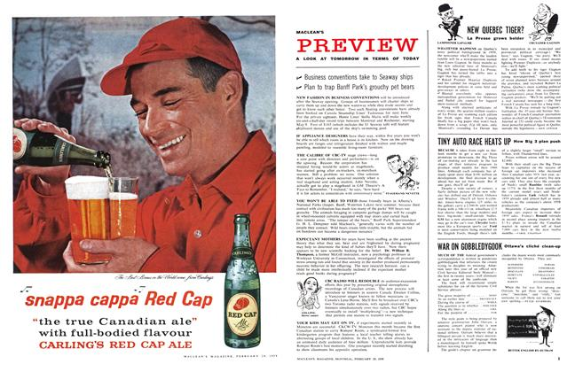 Article Preview: NEW QUEBEC TIGER?, February 1959 | Maclean's
