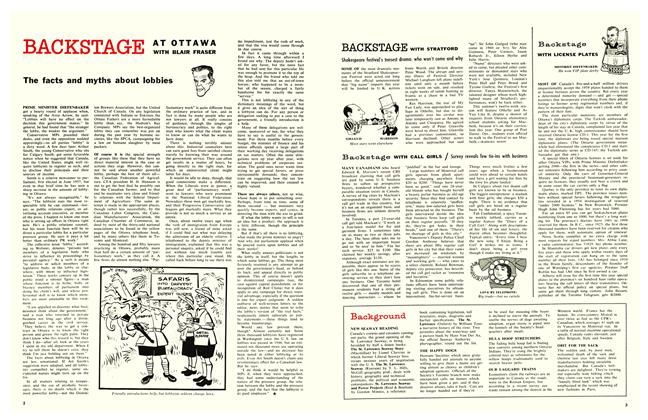 Article Preview: The facts and myths about lobbies, February 1959 | Maclean's