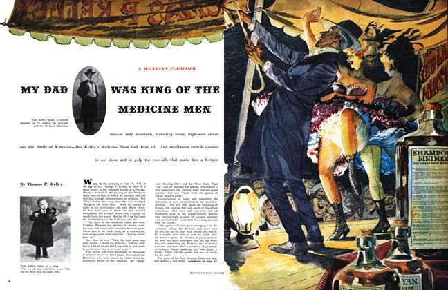 Article Preview: MY DAD WAS KING OF THE MEDICINE MEN, March 1959 | Maclean's