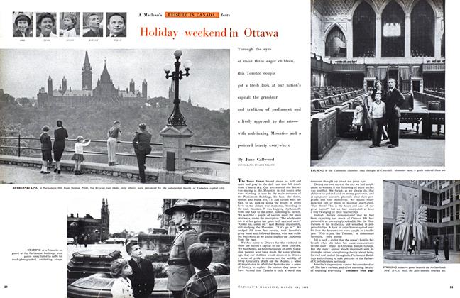 Article Preview: Holiday weekend in Ottawa, March 1959 | Maclean's