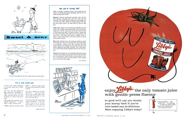 """Article Preview: We call it """"Living '59"""", March 1959 