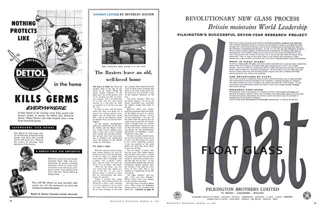 Article Preview: The Baxters leave an old, well-loved home, March 1959 | Maclean's