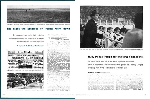 Article Preview: The night the Empress of Ireland went down, March 1959 | Maclean's