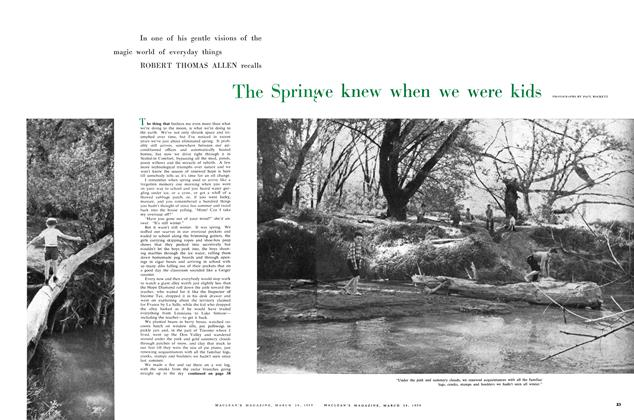 Article Preview: The Spring we knew when we were kids, March 1959 | Maclean's