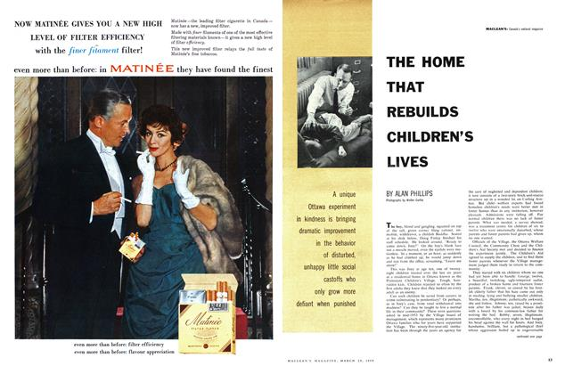 Article Preview: THE HOME THAT REBUILDS CHILDREN'S LIVES, March 1959 | Maclean's