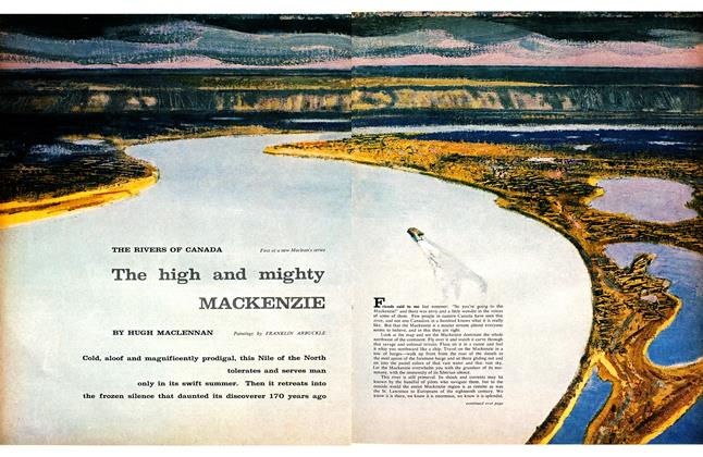 Article Preview: The high and mighty MACKENZIE, April 1959 | Maclean's