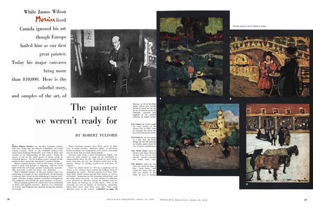 Article Preview: The painter we weren't ready for, April 1959 | Maclean's