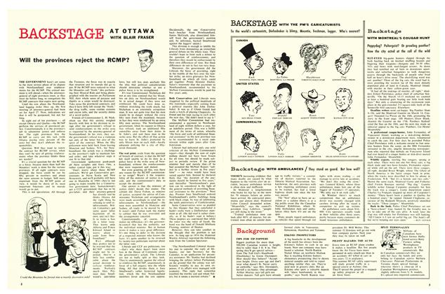 Article Preview: Will the provinces reject the RCMP?, April 1959 | Maclean's