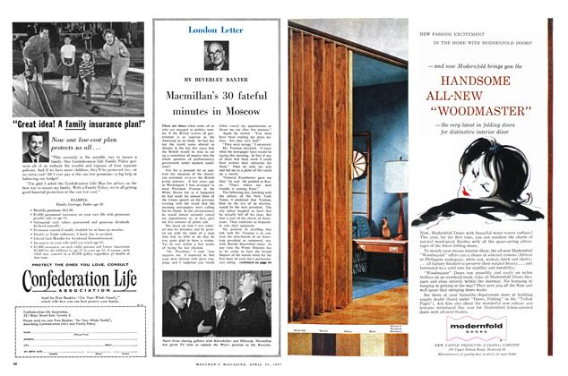 Article Preview: Macmillan's 30 fateful minutes in Moscow, April 1959 | Maclean's