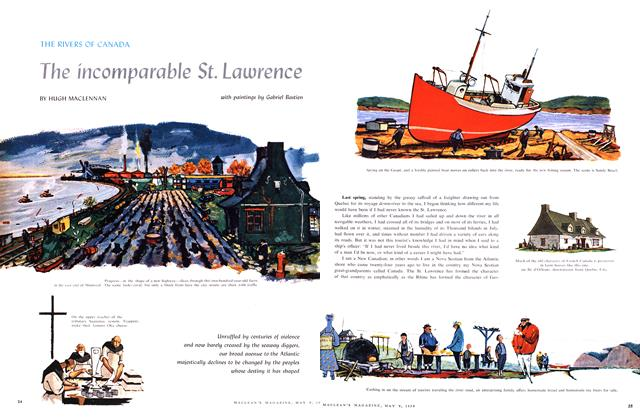Article Preview: The incomparable St. Lawrence, May 1959 | Maclean's