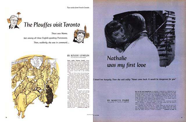 Article Preview: The Plouffes vísít Toronto, May 1959 | Maclean's