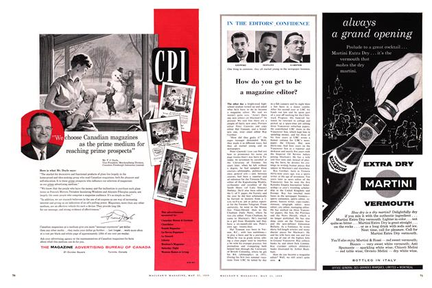 Article Preview: How do you get to be a magazine editor?, May 1959 | Maclean's