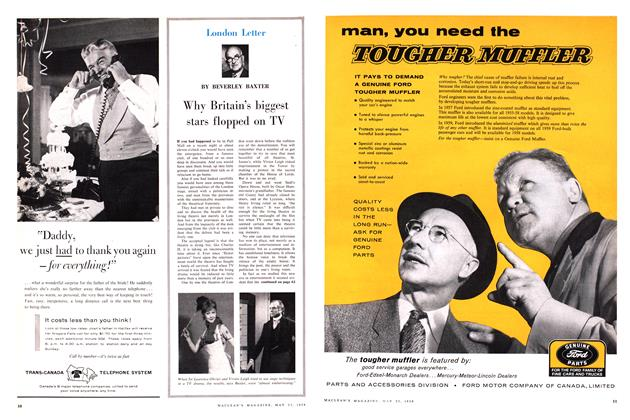 Article Preview: Why Britain's biggest stars flopped on TV, May 1959 | Maclean's
