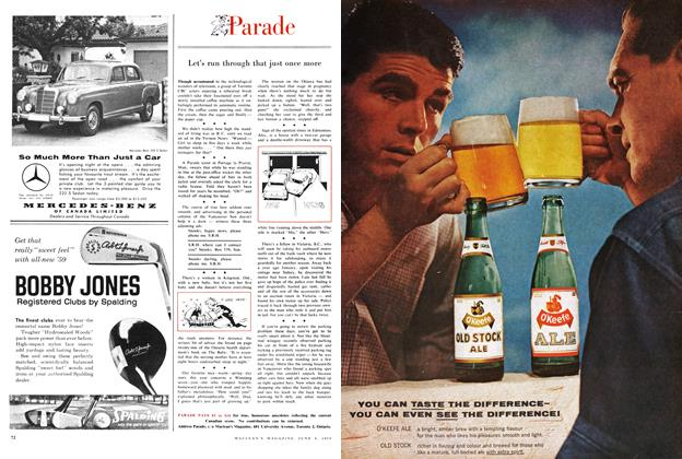 Article Preview: Parade, June 1959 | Maclean's