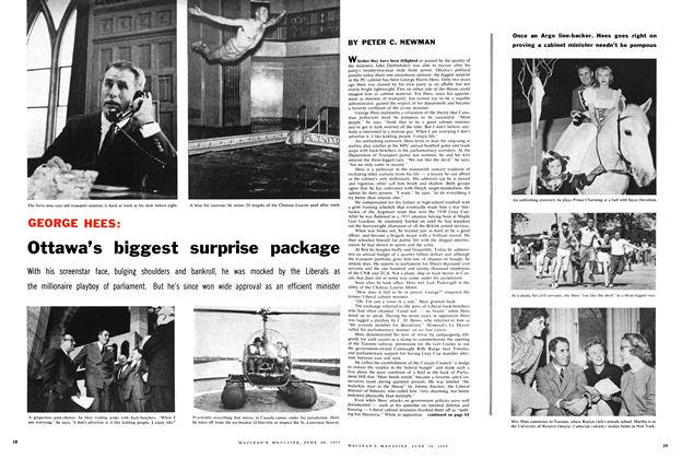 Article Preview: Ottawa's biggest surprise package, June 1959 | Maclean's