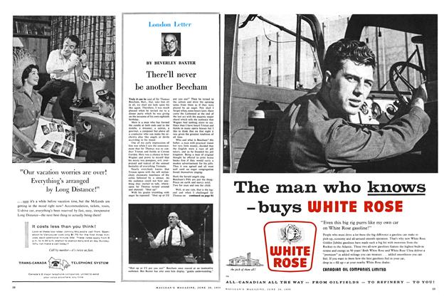 Article Preview: There'll never be another Beecham, June 1959 | Maclean's