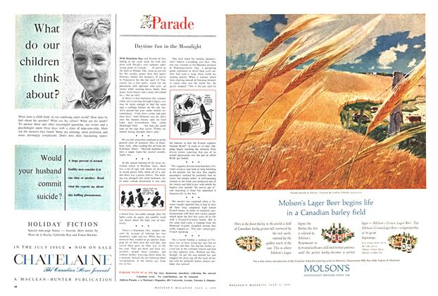 Article Preview: Parade, July 1959 | Maclean's