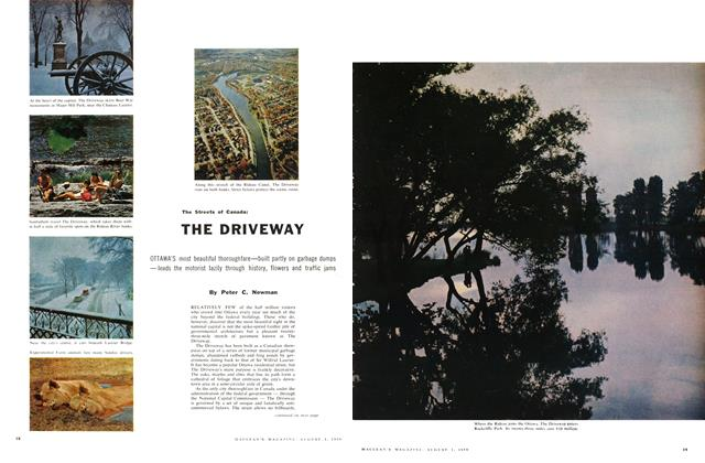 Article Preview: The Streets of Canada: THE DRIVEWAY, August 1959 | Maclean's