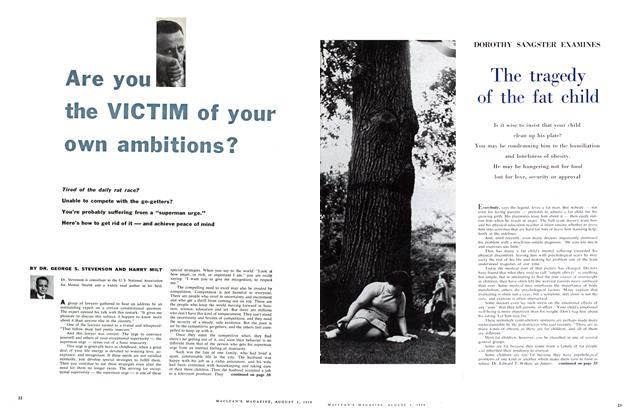 Article Preview: Are you the VICTIM of your own ambitions?, August 1959 | Maclean's