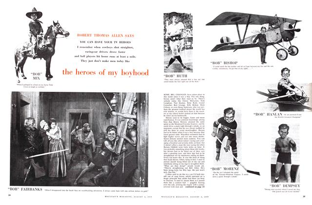 Article Preview: the heroes of my boyhood, August 1959 | Maclean's