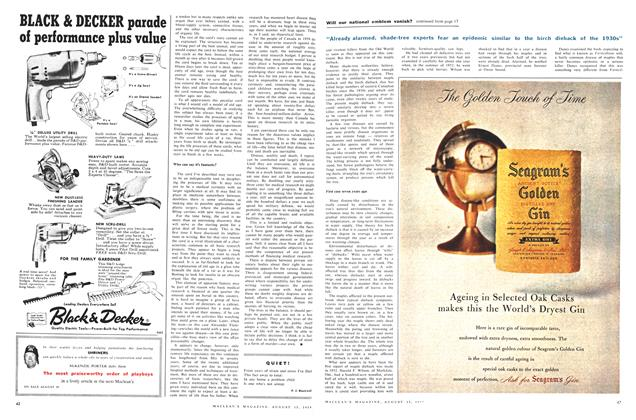 Article Preview: QUIET!, August 1959 | Maclean's