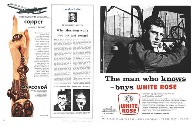Article Preview: Why Morrison won't take his just reward, August 1959 | Maclean's