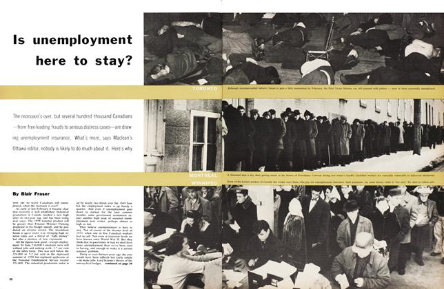 Article Preview: Is unemployment here to stay?, August 1959 | Maclean's