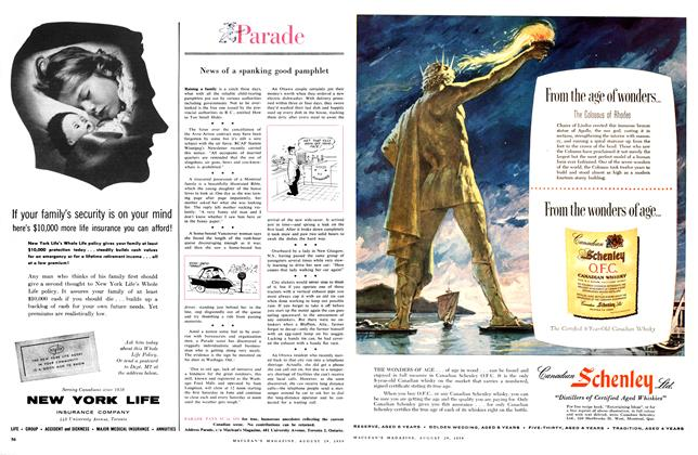 Article Preview: Parade, August 1959 | Maclean's