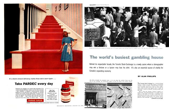 Article Preview: The world's busiest gambling house, August 1959 | Maclean's