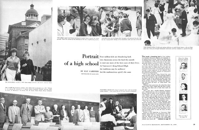 Article Preview: Portrait of a high school, September 1959 | Maclean's