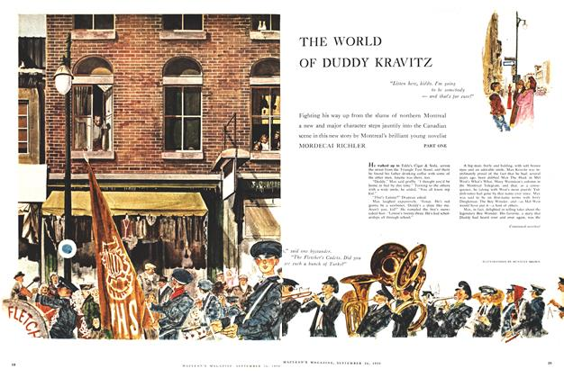 Article Preview: THE WORLD OF DUDDY KRAVITZ, September 1959 | Maclean's