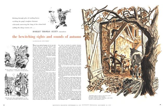 Article Preview: the bewitching sights and sonnds of autumn, September 1959 | Maclean's