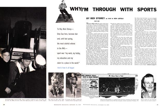 Article Preview: WHY I'M THROUGH WITH SPORTS, October 1959 | Maclean's