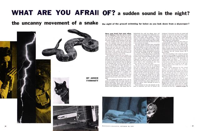 Article Preview: WHAT ARE YOU AFRAID OF?, October 1959 | Maclean's