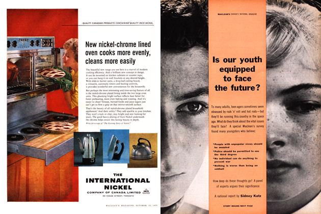 Article Preview: Is our youth equipped to face the future?, October 1959 | Maclean's