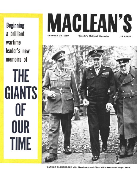 Issue: - October 24 1959 | Maclean's