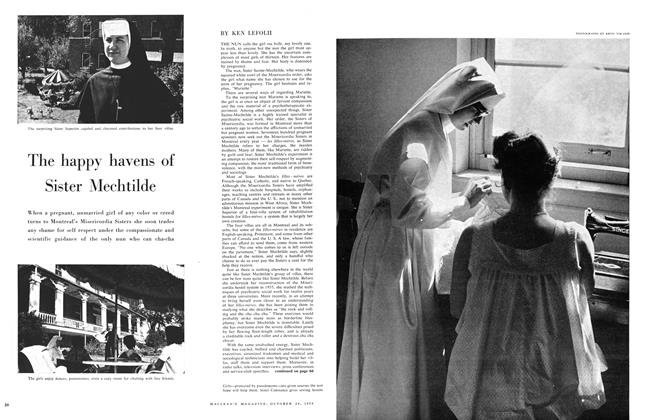 Article Preview: The happy havens of Sister Mechtilde, October 24 1959 | Maclean's