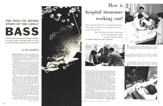 Article Preview: How is hospital insurance working out?, October 24 1959 | Maclean's