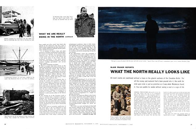 Article Preview: WHAT THE NORTH REALLY LOOKS LIKE, November 1959 | Maclean's