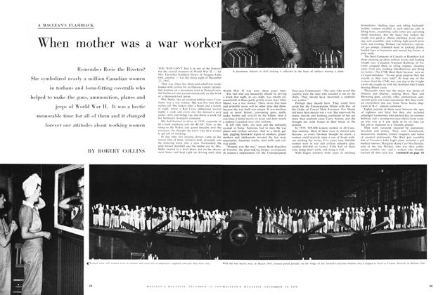 Article Preview: When mother was a war worker, December 1959 | Maclean's