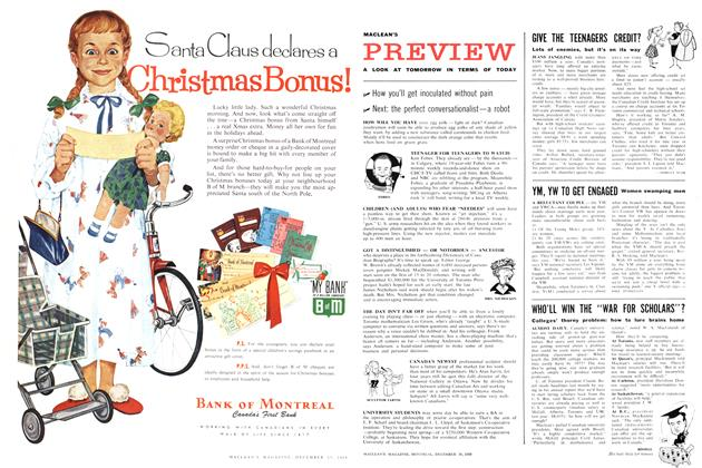 Article Preview: GIVE THE TEENAGERS CREDIT?, December 1959 | Maclean's