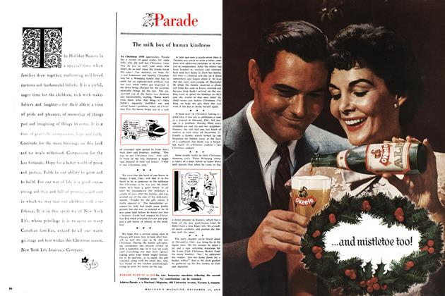 Article Preview: Parade, December 1959 | Maclean's
