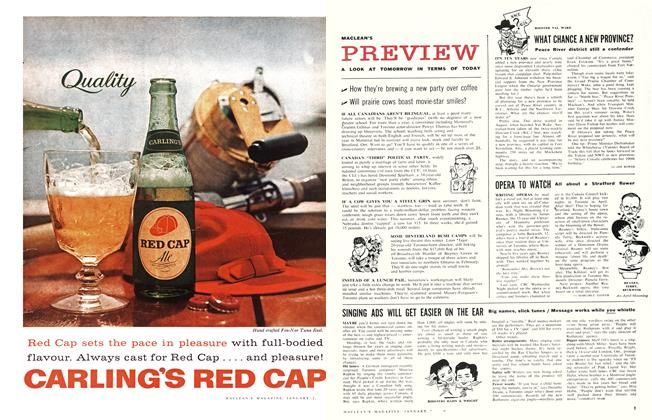 Article Preview: SINGING ADS WILL GET EASIER ON THE EAR, January 1960 | Maclean's